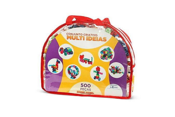 Sacolão Multi Ideias em Plástico - 500 peças