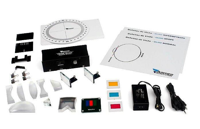 Kit de Física - Ótica Compacto