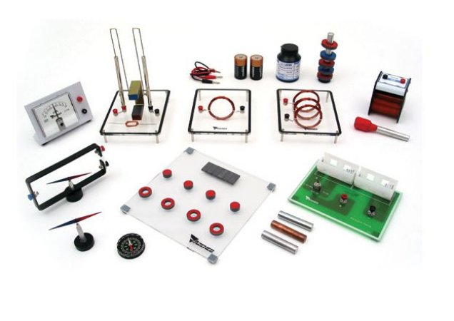 Kit de Física - Magnetismo e Eletromagnetismo
