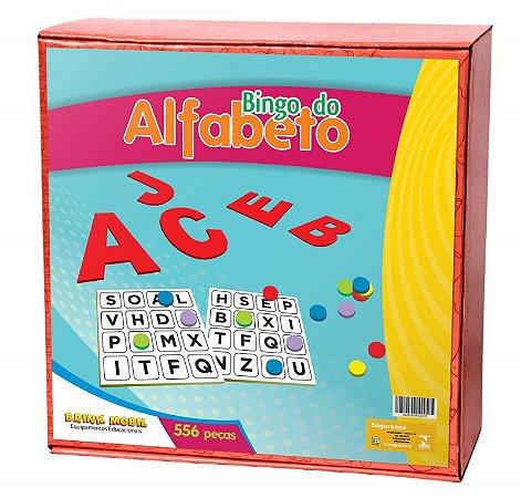 Bingo do Alfabeto em MDF e EVA