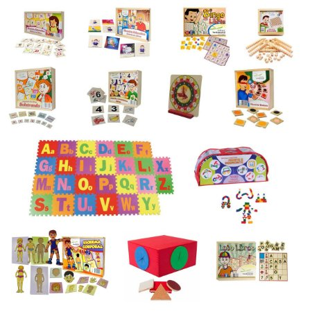 Kit Recursos Multifuncionais MEC / PDDE - Materiais Pedagógicos