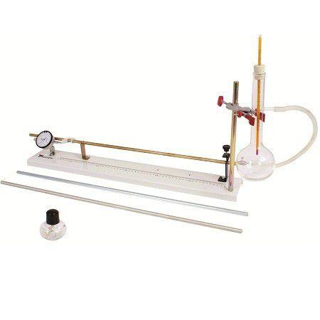 Dilatômetro Linear com Gerador de Vapor e Termômetro Digital