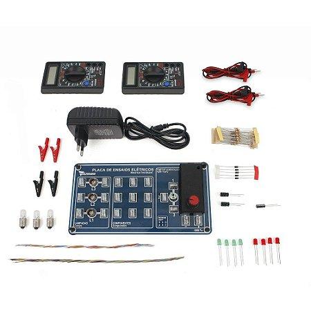 Kit de Física - Conjunto de Eletricidade - Básico