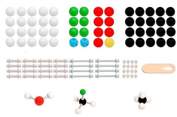 Modelo Molecular Introdutório 122 peças