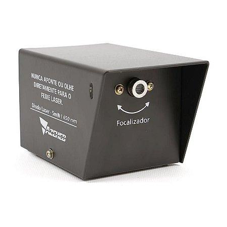 Fonte Laser Portátil de um feixe 5mW - 650mn c/ Fonte