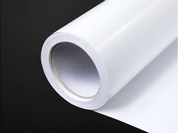 Vinil Adesivo Branco Brilhante 1,27m x 50m (SAV 12/140)