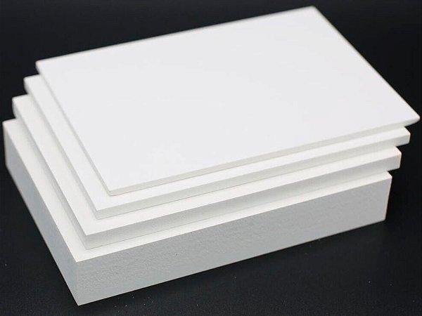 PVC Expandido 10mm Branco com Densidade 0,65 (UFS10)