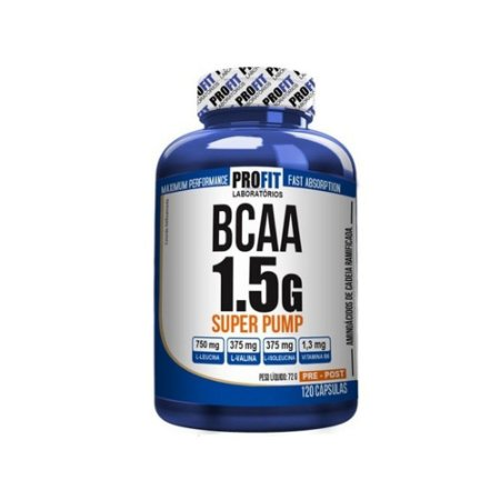 BCAA 1.5g Super Pump -120cap.