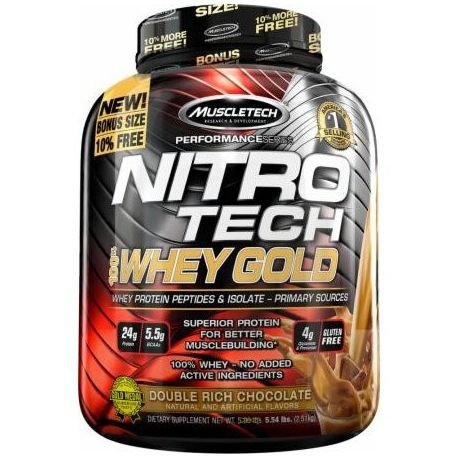 NITRO TECH 100% WHEY GOLD - Muscletech (2,5kg)