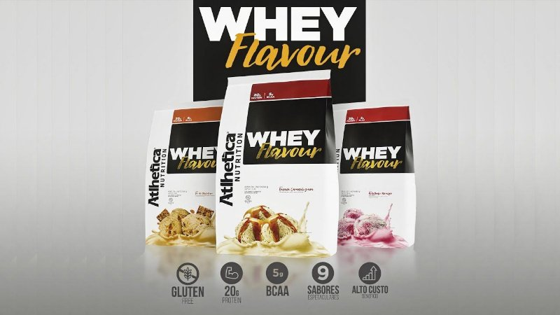 Atlhetica Nutrition Whey Flavour 850g