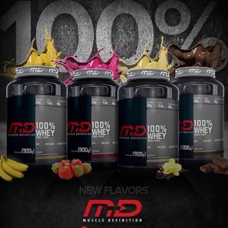 100% Whey (900g) - Muscle Definition