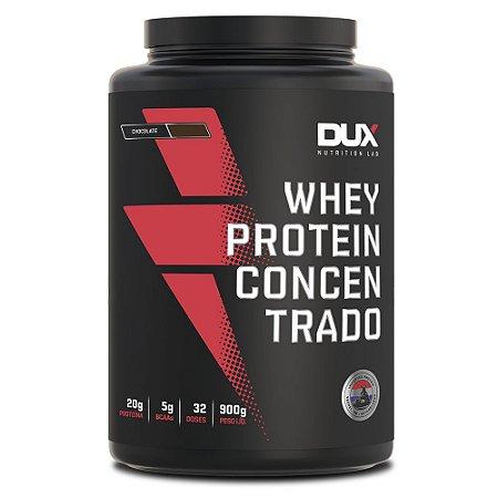 Whey Protein Concentrado- DUX NUTRITION - Pote 900g