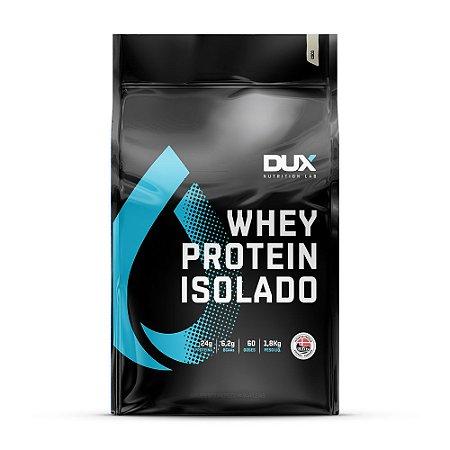 WHEY PROTEIN ISOLADO - DUX NUTRITION - refil 1.8 Kg