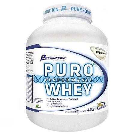 PURO WHEY - Performance Nutrition- 2kg