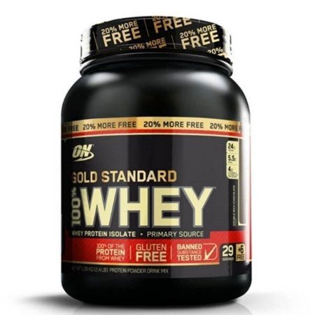 100% Whey Gold Standard 2.4Lbs 1.09Kg Optimum Nutrition