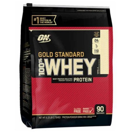 100% Whey Gold Standard 6Lbs (2,9Kg) - Optimum Nutrition