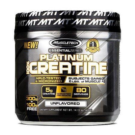 PLATINUM 100% CREATINE - MuscleTech - 400g