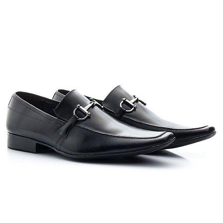 fa1ab4d90f Sapato social masculino couro legítimo estilo italiano - Loja Franca ...