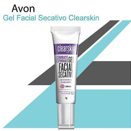 Gel Facial Secativo Clearskin 15g - Avon