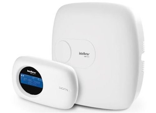 Central de Alarme Monitorada Intelbras 10 Zonas c/ Teclado AMT 2010