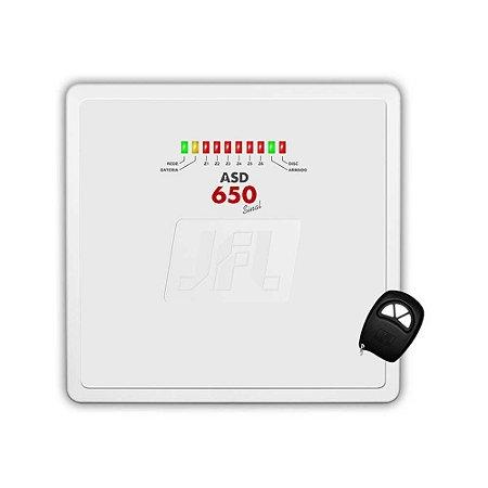 Central de Alarme Residencial / Comercial JFL ASD600 6 Setores - com Discadora Telefônica