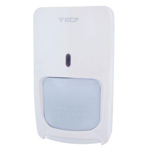 Sensor de Alarme Microondas + Infravermelho ECP Pet 25kg Semi Externo- Ligação por fio