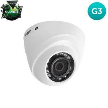 Câmera Intelbras Dome VHD 1120D Infravermelho 20 Metros Multi HD 3.6mm