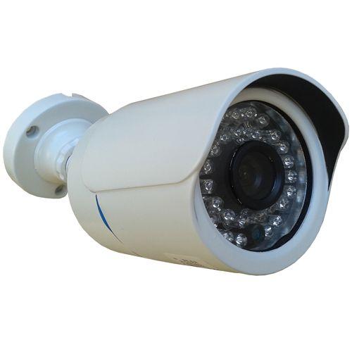 Câmera de Segurança com Infravermelho Bullet Ircut 30 Metros ccd 800 Linhas - Fonte de Brinde