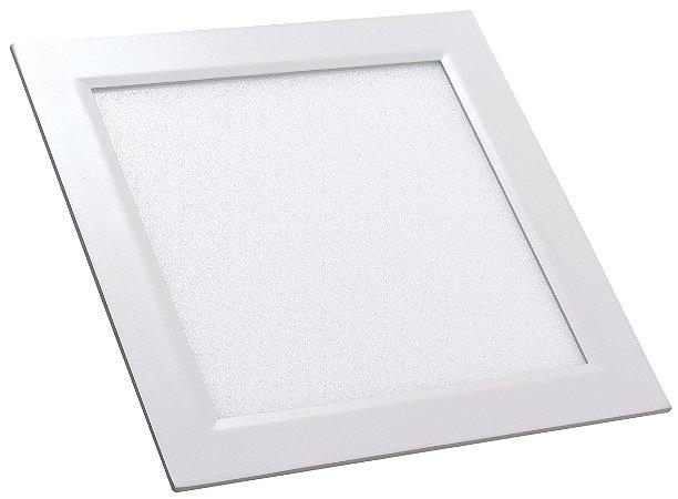 Luminária Painel Slim Embutir 6w LED QUADRADO Bivolt CRISTALLUX