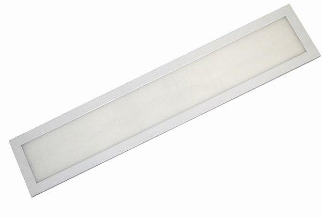 Painel Slim Embutir Retangular 36W - 15x122cm - CRISTALLUX