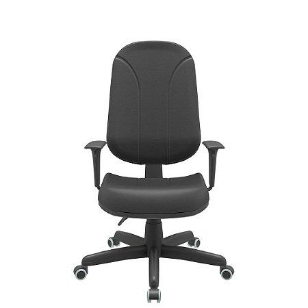 Cadeira Presidente Operativa - Back Plax - Braços Digitador - Plaxmetal