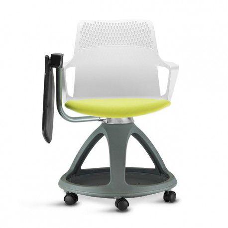 Cadeira ASPER  Giratória com prancheta escamoteável