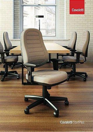 Cadeira para Escritório Presidente Cavaletti StartPlus 6001