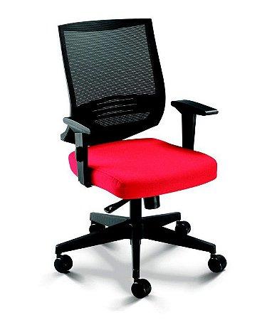 Cadeira Air 27001 - Syncron - Braços SL - Base Nylon - Cavaletti