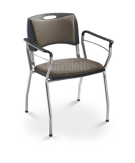 Cadeira para Escritório Aproximação/Fixa Cavaletti Coletiva 35013