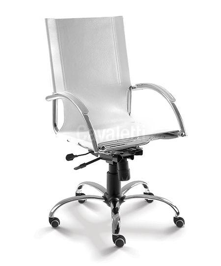 Cadeira para Escritório Presidente Cavaletti Chroma 14001