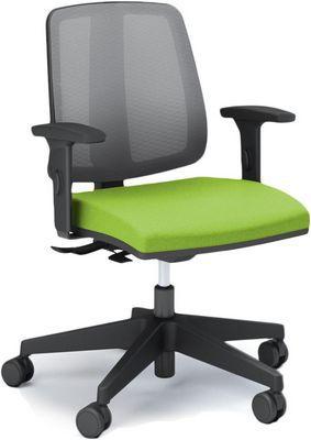 Cadeira Executiva Flip Giratória 43103 SRE - Base Nylon - Cavaletti