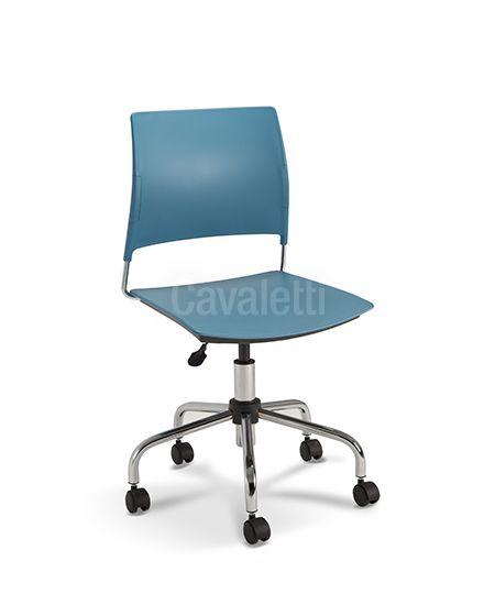 Cadeira Giratória 34003 Basic Cavaletti Go