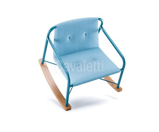 Poltrona Cavaletti Stretch - Base Esqui 36906