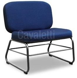 Poltrona Cavaletti Fixa Linha Extra para Obeso - Modelo 4007 - Cap. 250 kg