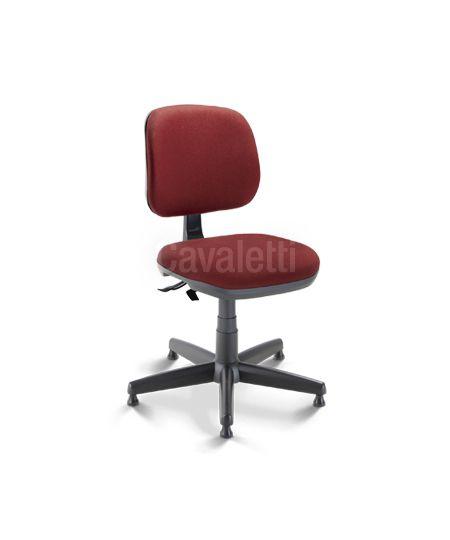 Cadeira Giratória 4103 costureira   Executiva Mecanismo SRE Aranha de aço coberta por polaina de PP