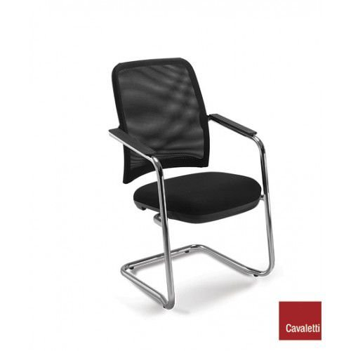 Cadeira Fixa de Aproximação NewNet 16006 S - Base Cromada - Cavaletti