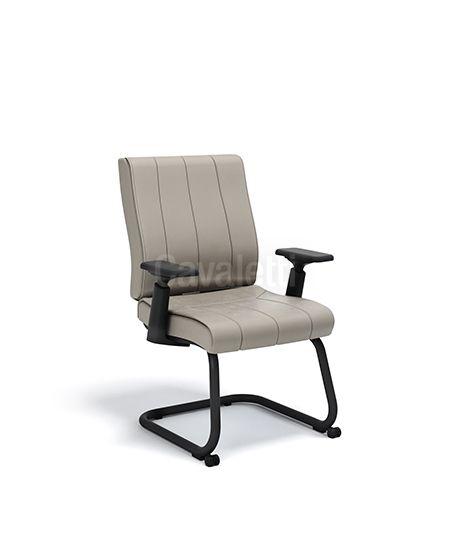 Cadeira Diretor Fixa Essence - Braços 4D - Cavaletti 20506 S