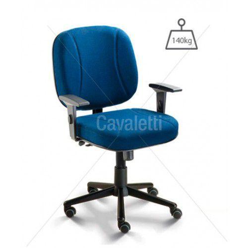 Cadeira Para Escritório Giratória Diretor 4003 Extra - Capacidade 140kg - Linha Start - Braço SL - Cavaletti