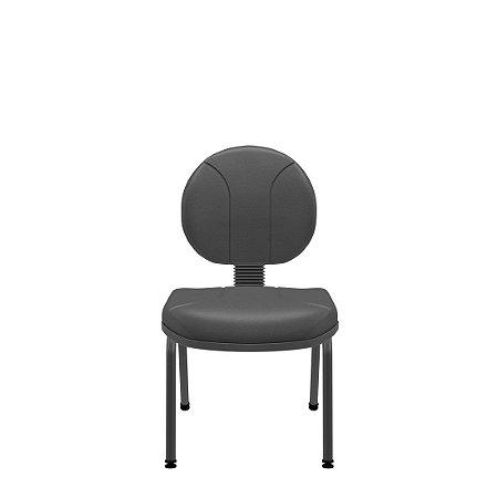 Cadeira Executiva Operativa Fixa 4 Pés Plaxmetal