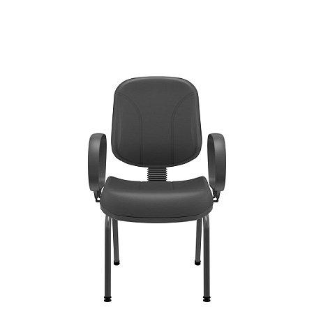 Cadeira Diretor Operativa Fixa 4 Pés Plaxmetal