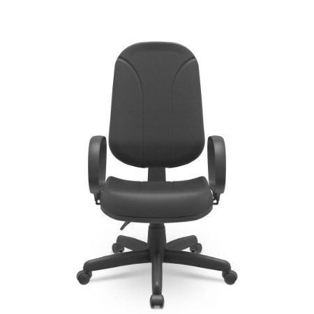 Cadeira Presidente Operativa Braços Corsa Base Preta Plaxmetal