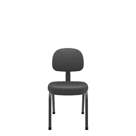 Cadeira Secretária Operativa Fixa 4 Pés Plaxmetal