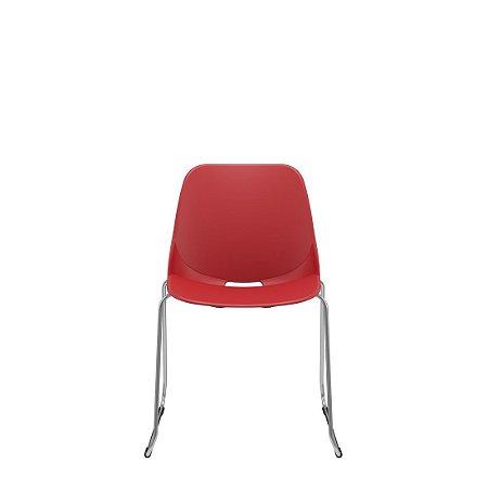 Cadeira Fixa Trapezoidal Quick Diálogo Fixa Plaxmetal