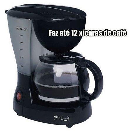 CAFETEIRA ELÉTRICA VICINI 12 XÍCARAS EPV881 127V